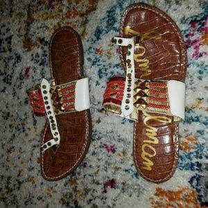 84c669f333cc Sam Edelman Shoes - Sam Edelman Gideon beaded sandals